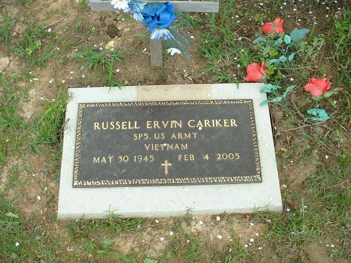 Russell Ervin Cariker