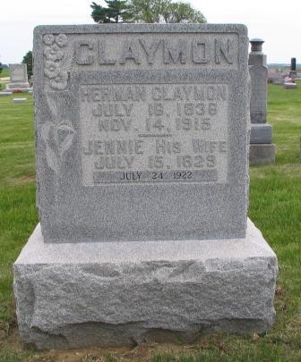 Jennie Anna <i>Eden</i> Claymon