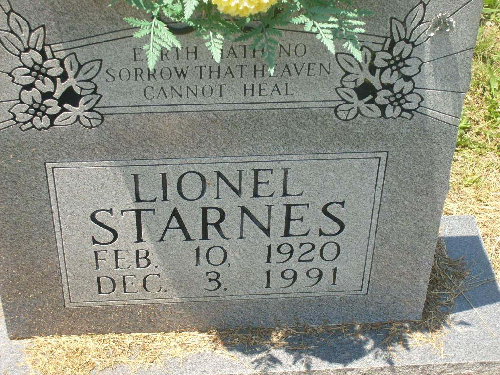 Lionel Starnes