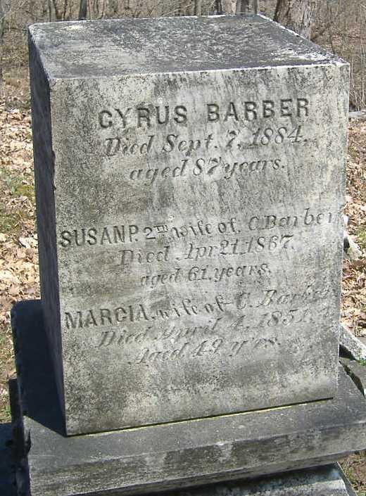Susan P. <i>Durkee</i> Barber