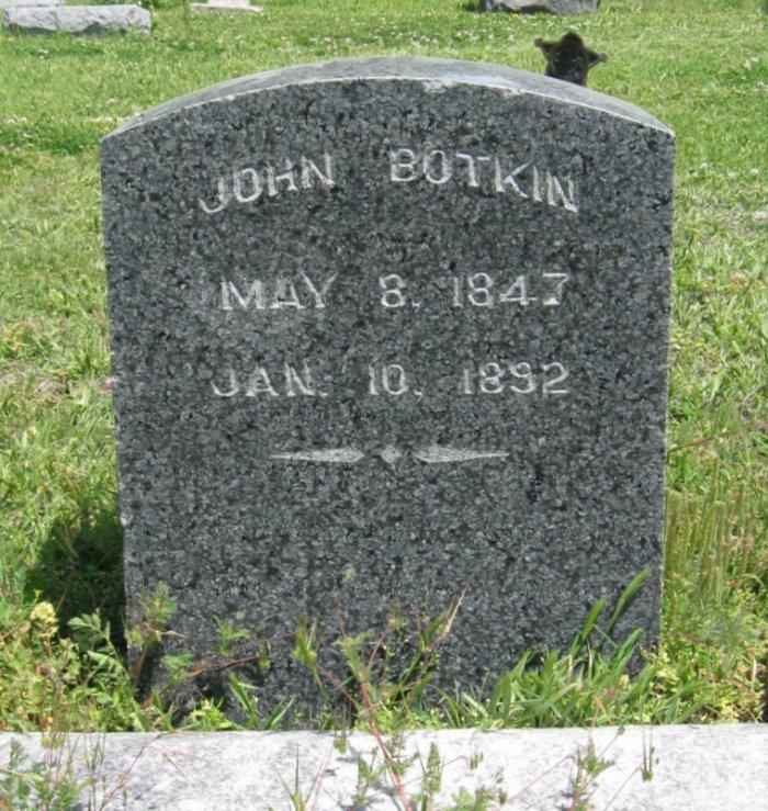 Pvt John Botkin