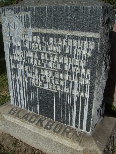 Lucinda <i>Harris</i> Blackburn