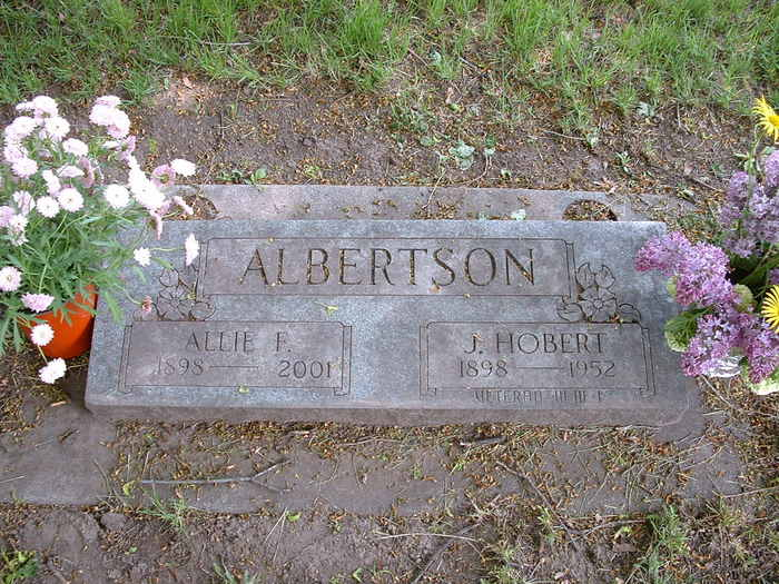 Allie F. <i>Broughton</i> Albertson