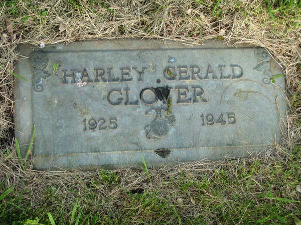 PFC Harley Gerald Glover