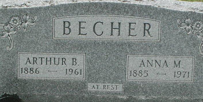 Anna Marie <i>Regier</i> Becher