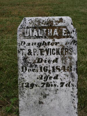 Dialtha E. Vickers