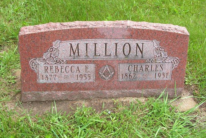 Rebecca Ellen Ella <i>Case</i> Bishop Million