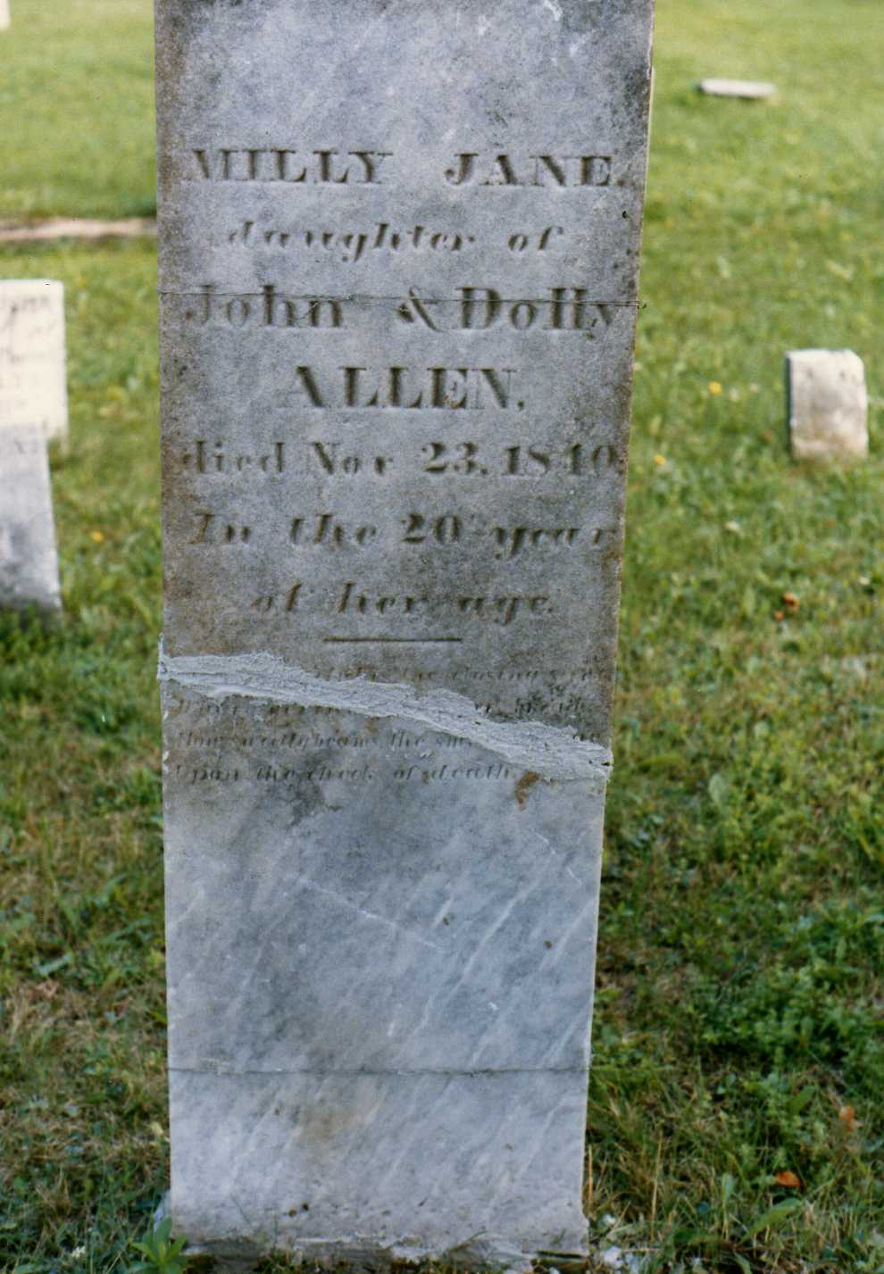 Milly Jane Allen