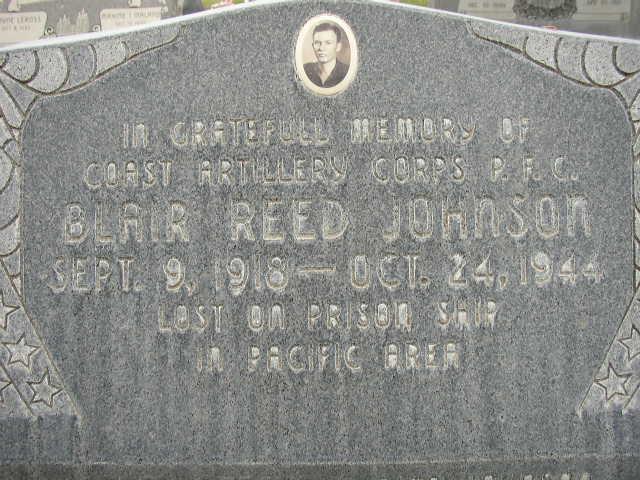 PFC Blair R Johnson
