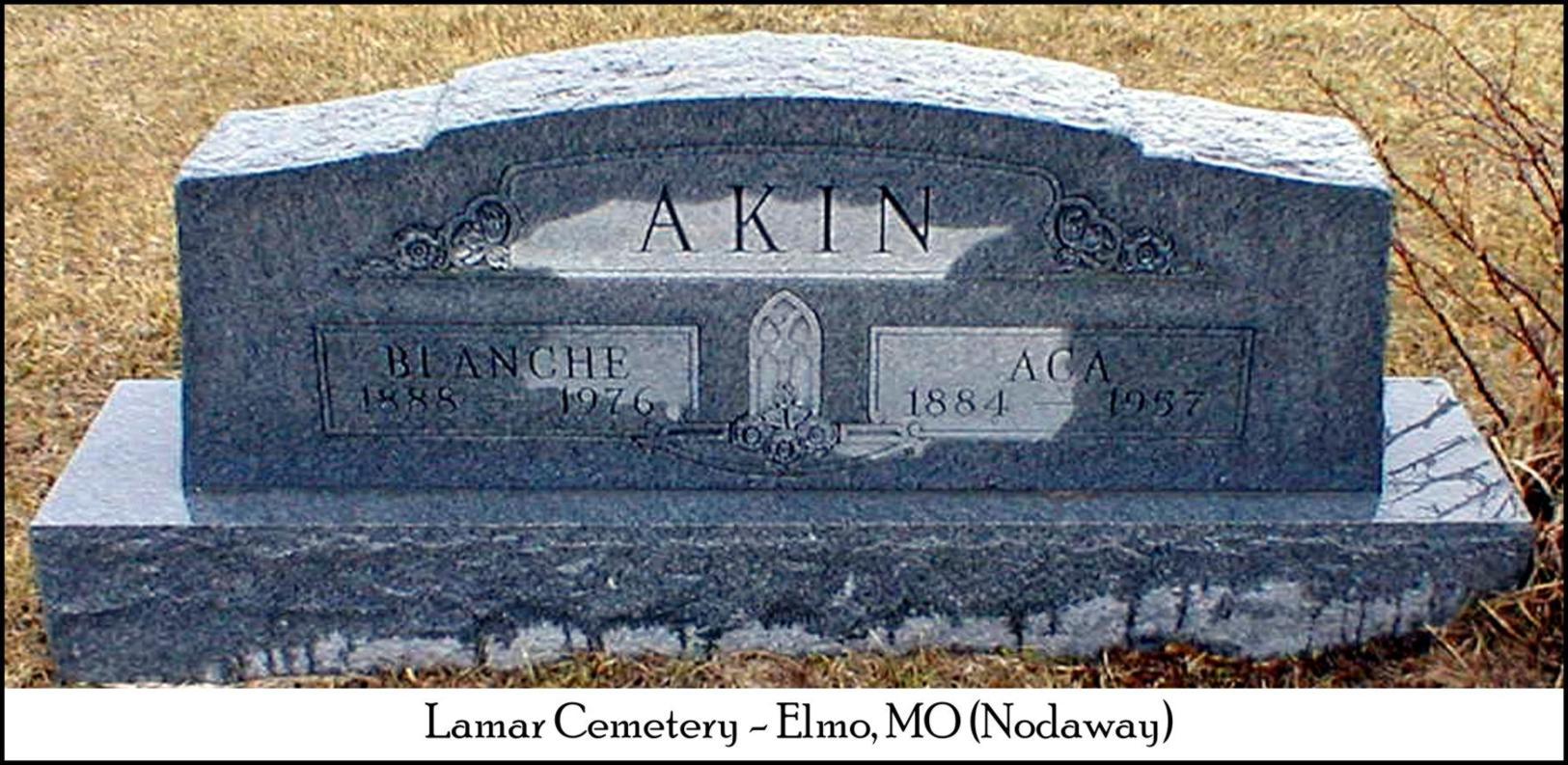 Blanche <i>Gates</i> Akin