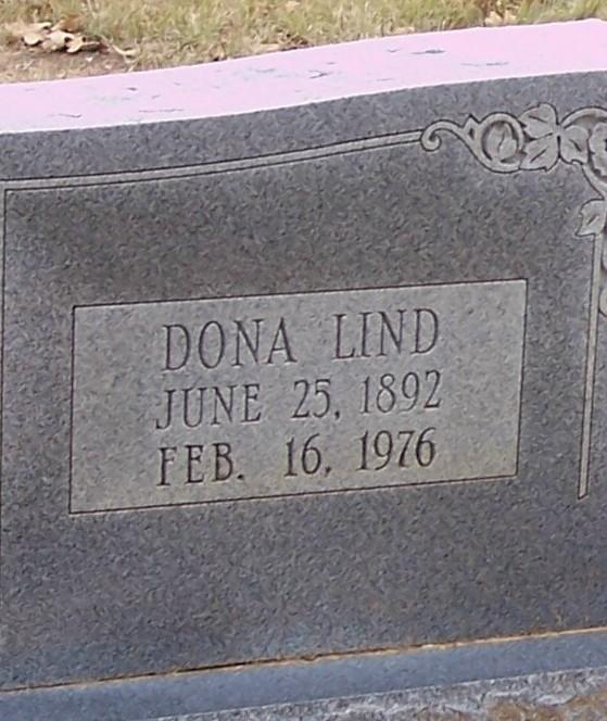 Dona Lind <i>Taylor</i> Raper