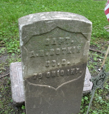 Capt Abraham Hester Botkin