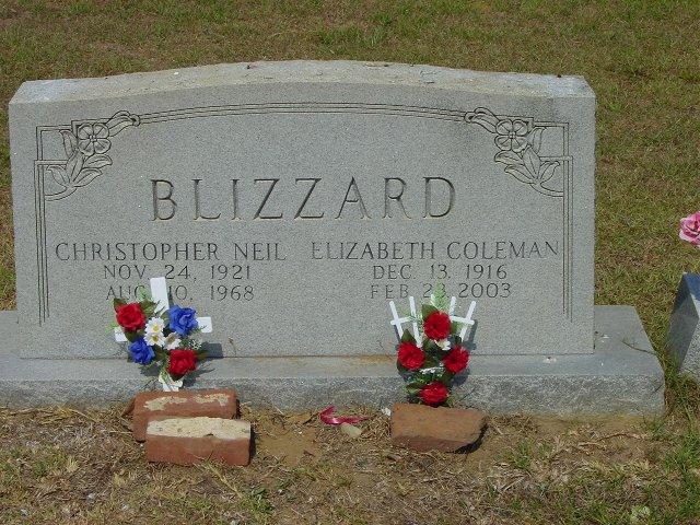 Elizabeth <i>Coleman</i> Blizzard