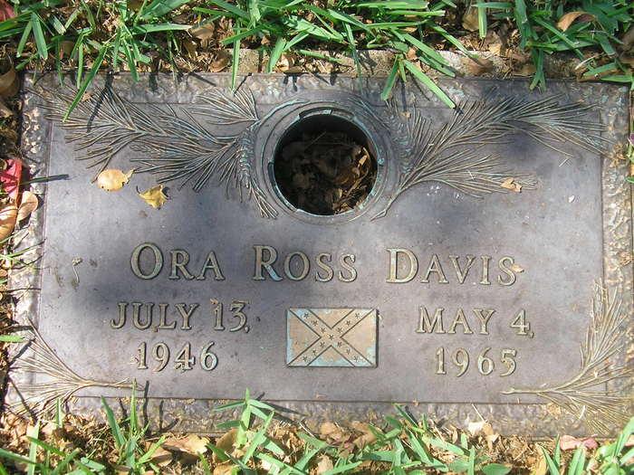 Ora Ross Davis