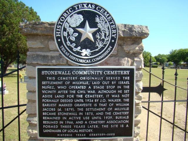 Stonewall Community Cemetery