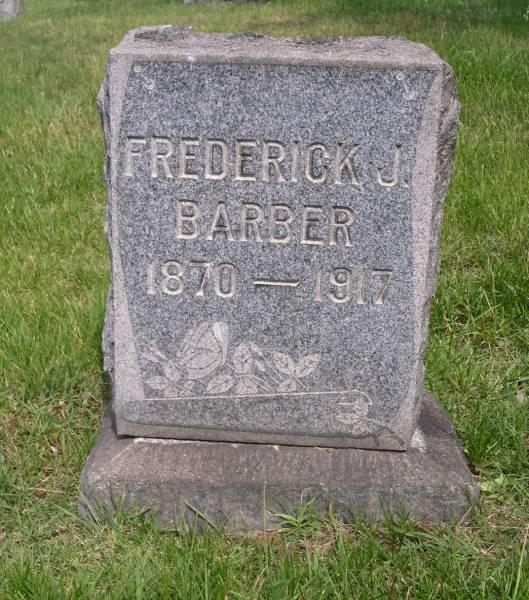 Frederick J Barber