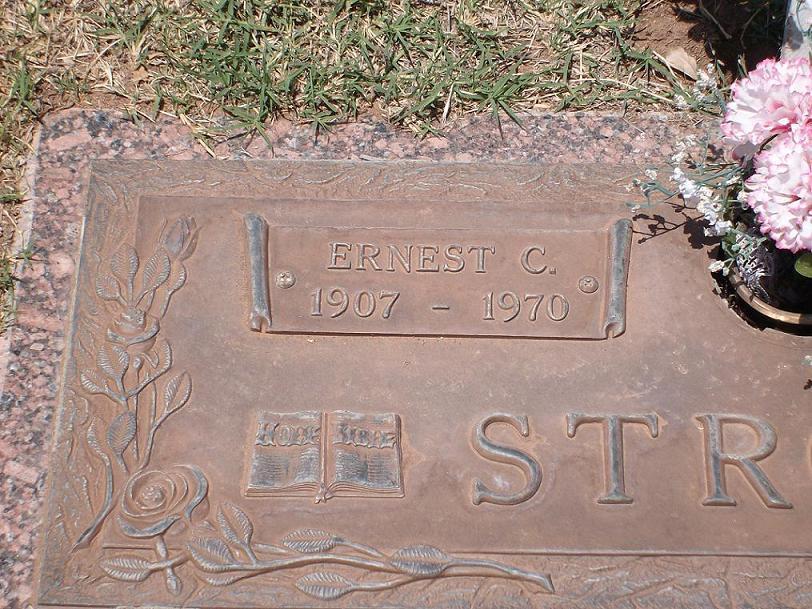 Ernest Calvin Ernie Stroud