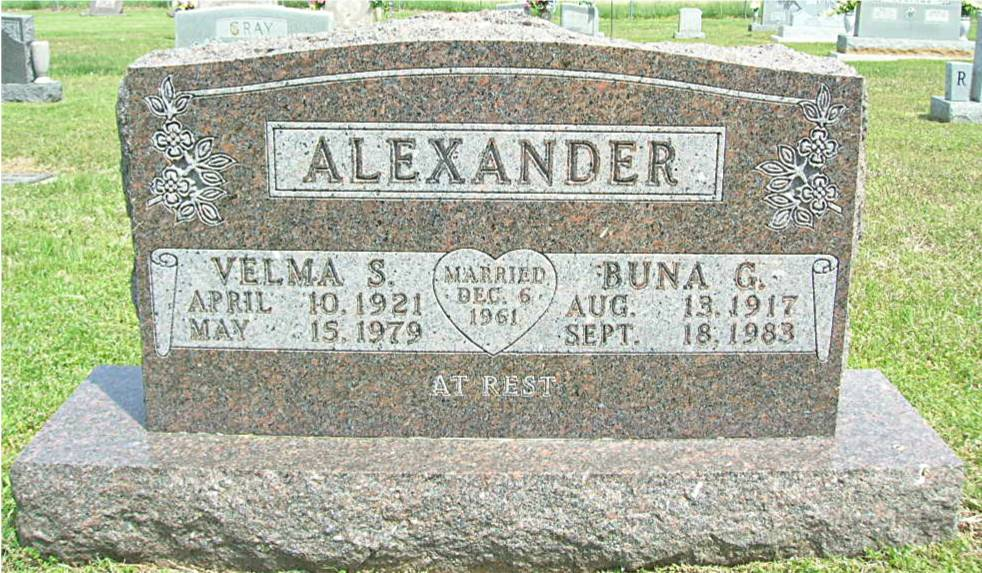 Velma S. <i>Huffman</i> Alexander