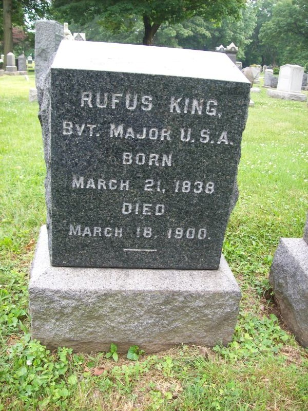 Maj Rufus King, Jr