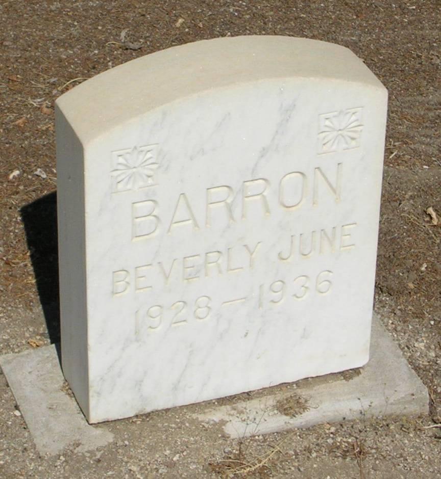 Beverly June Barron