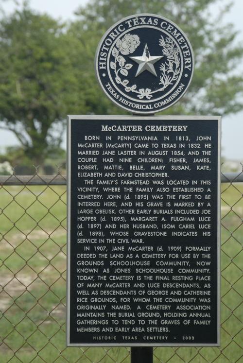 McCarter Cemetery