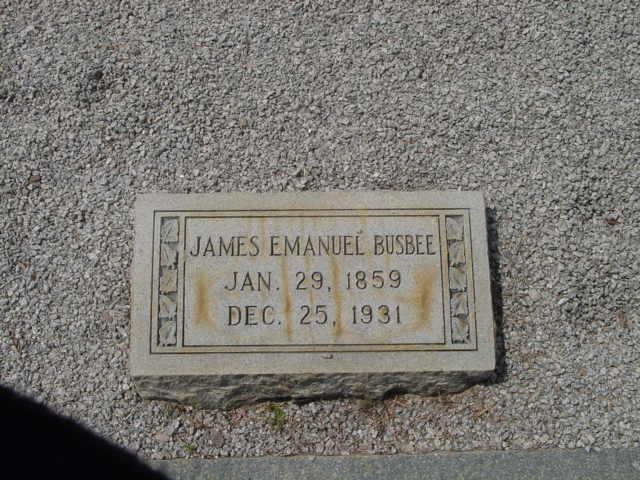 James Emanuel Busbee