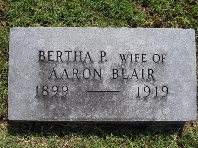 Bertha Pearl <i>McGoveran</i> Blair