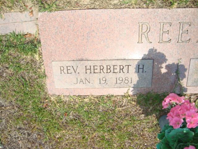 Rev Herbert H. Reed