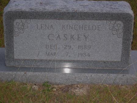 Lena <i>Kincheloe</i> Caskey