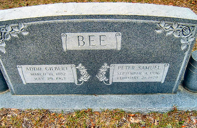 Addie L. <i>Gilbert</i> Bee