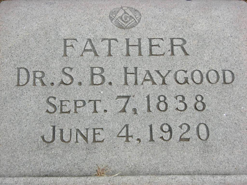 Dr Samuel Bertrand Haygood