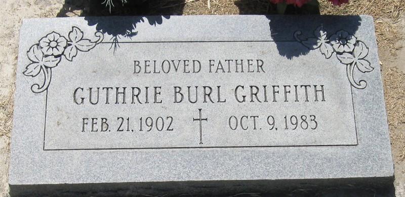 Guthrie Burl Griffith