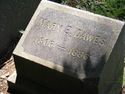 Mary Elizabeth <i>Greenleaf</i> Dawes