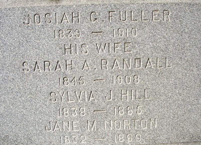 Jane M. <i>Norton</i> Fuller