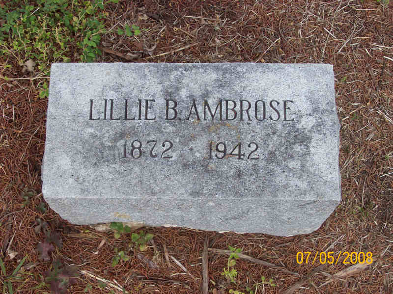 Lillie Bell <i>McFarland</i> Ambrose