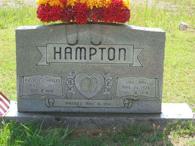 Lois May <i>Hunter</i> Hampton