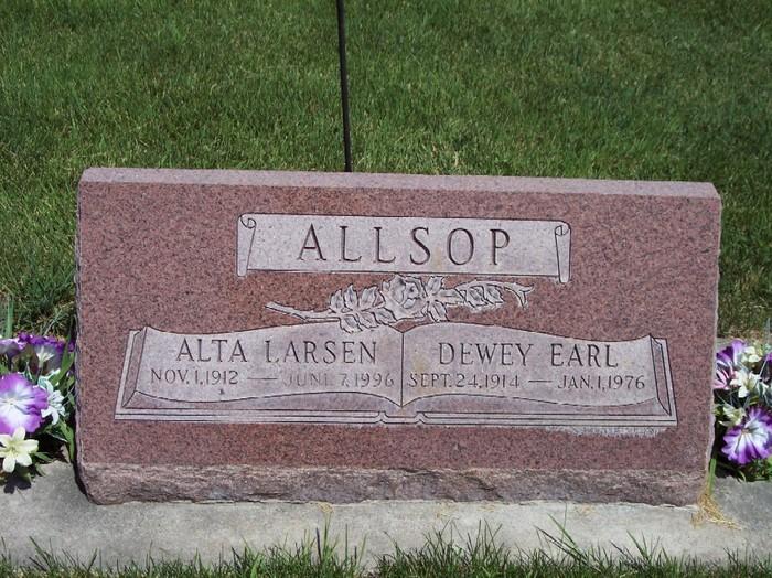 Alta Erma <i>Larsen</i> Allsop