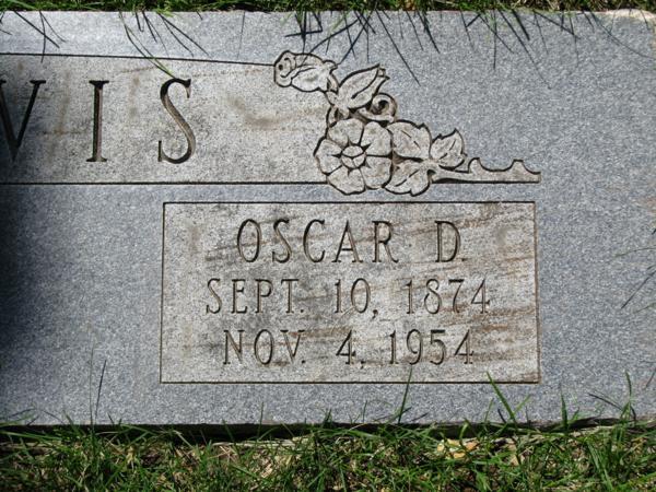 Oscar D, Reavis