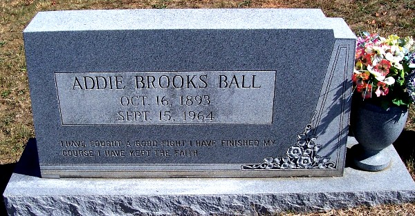 Addie <i>Brooks</i> Ball