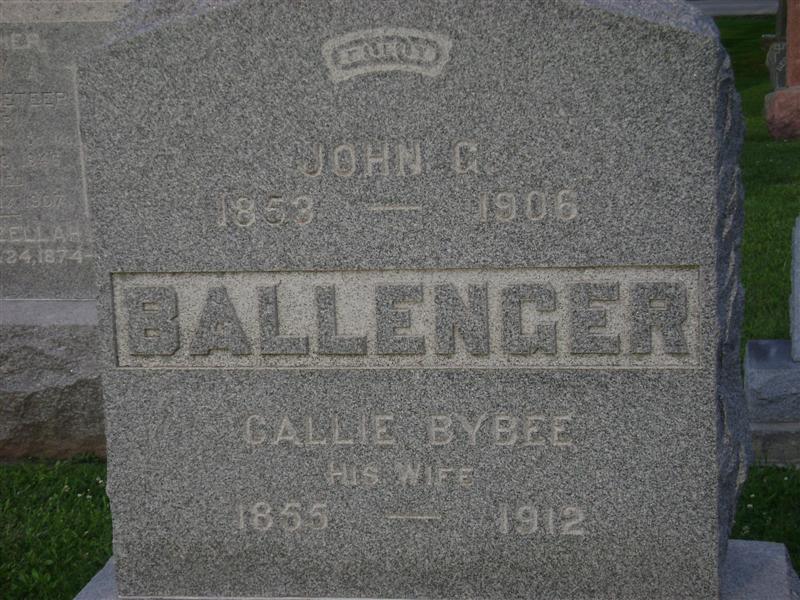 Callie <i>Bybee</i> Ballenger