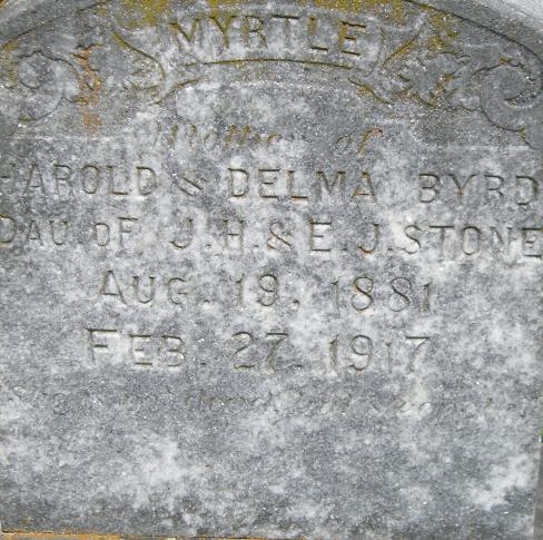 Myrtle Isa <i>Stone</i> Byrd