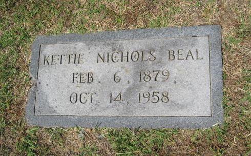 Kettie <i>Nichols</i> Beal