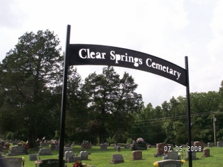 Clear Springs Cemetery