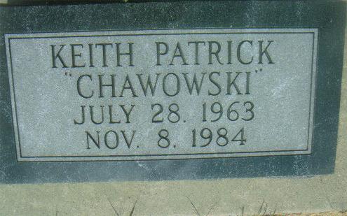 Keith Patrick Chawowski Carroll