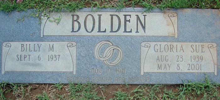 Gloria Sue <i>Spencer</i> Bolden