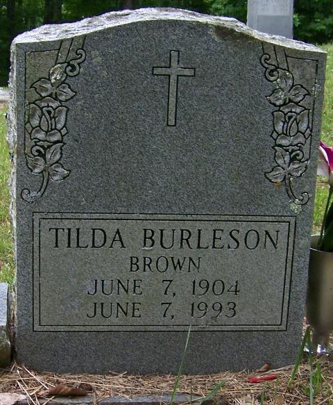 Matilda Tilda <i>Burleson</i> Brown