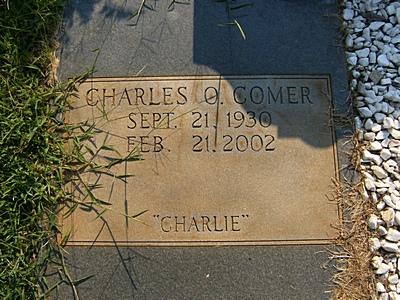 Charles Otis Charlie Comer, Sr