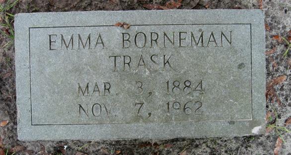 Emma Gertrude <i>Borneman</i> Trask