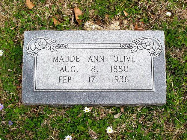 Maude Ann <i>Meeks</i> Olive