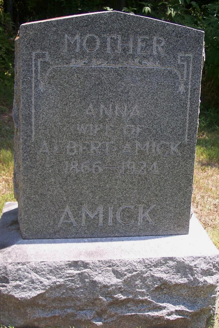 Anna L. <i>Collins</i> Amick